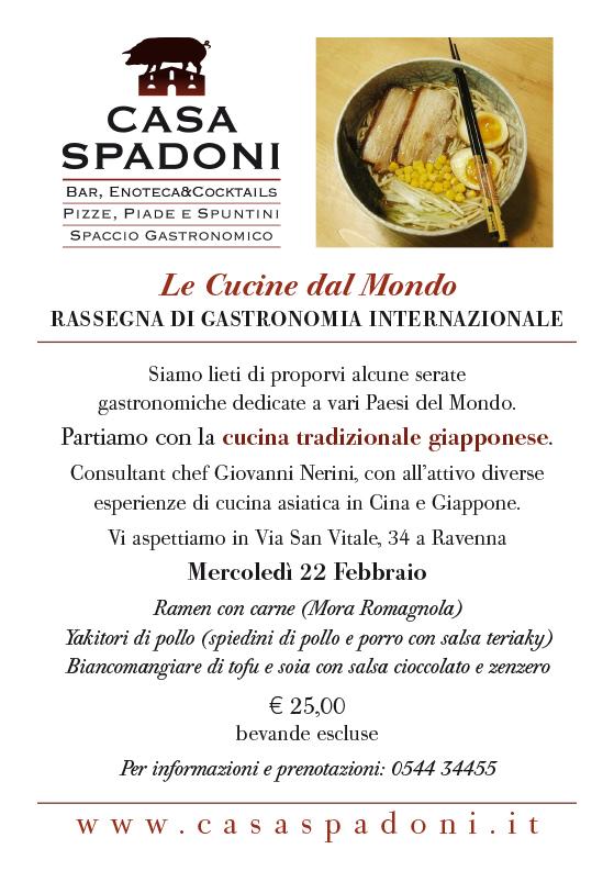 Cucine dal Mondo. Rassegna di gastronomia internazionale a Casa ...