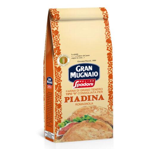 "Gran Mugnaio Tipo ""0"" per Piadina romagnola"