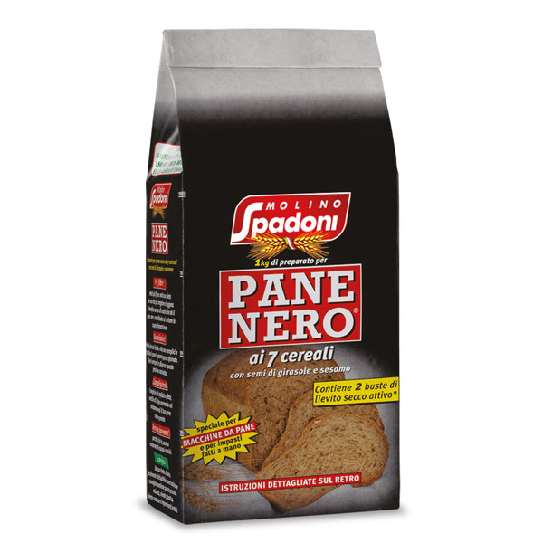 Preparato per pane nero ai 7 cereali