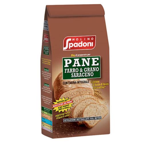 Preparato per pane Farro e Grano Saraceno