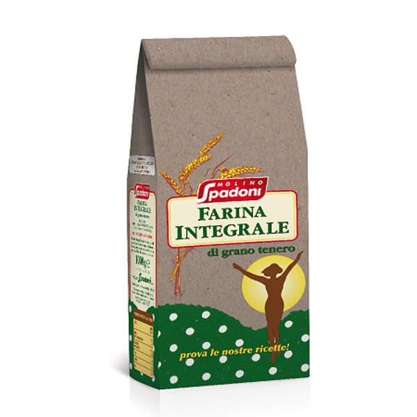 Farina integrale grano tenero
