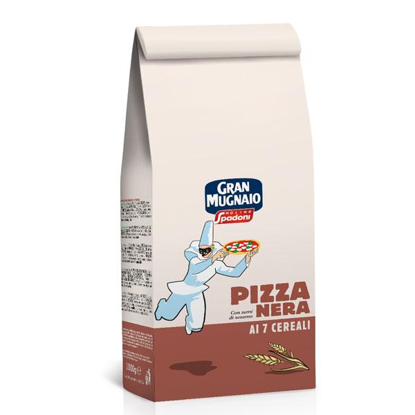 Pizza Nera ai 7 cereali, 5kg
