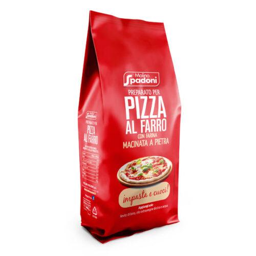 Preparato per pizza al farro