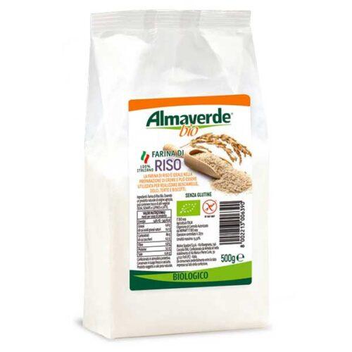 Farina bio di riso Senza Glutine