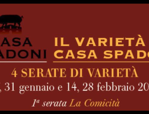 Un Sacco di Risate: Mercoledì 17 gennaio il Varietà a Casa Spadoni