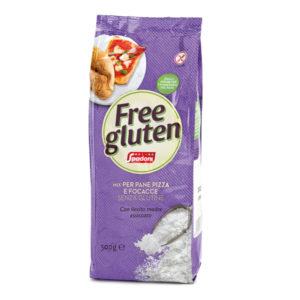 Mix senza glutine per pane pizza e focaccia | Casa Spadoni