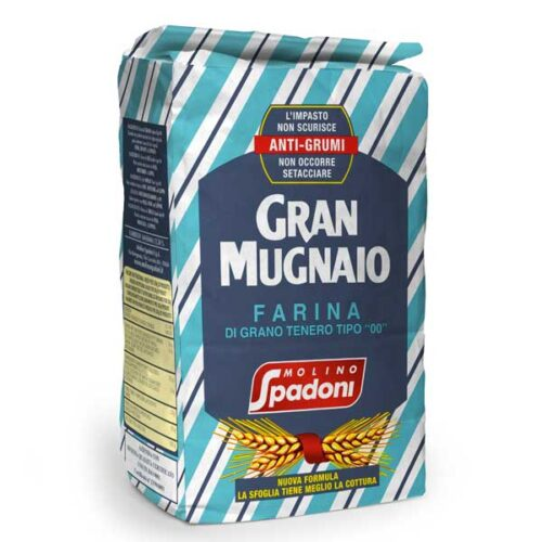 """Farina """"00"""" Gran Mugnaio Anti Grumi, 5kg"""