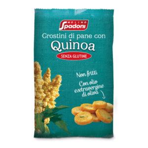 Crostini di pane con Quinoa