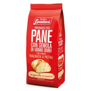 Preparato per pane con semola di grano duro | Casa Spadoni