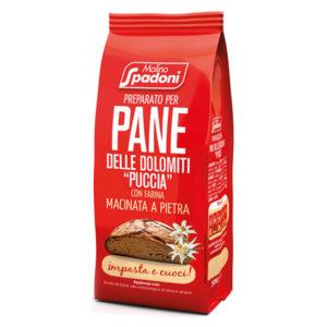 """Preparato per pane delle Dolomiti """"Puccia"""""""