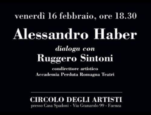 Alessandro Haber ospite del Circolo degli Artisti a Faenza
