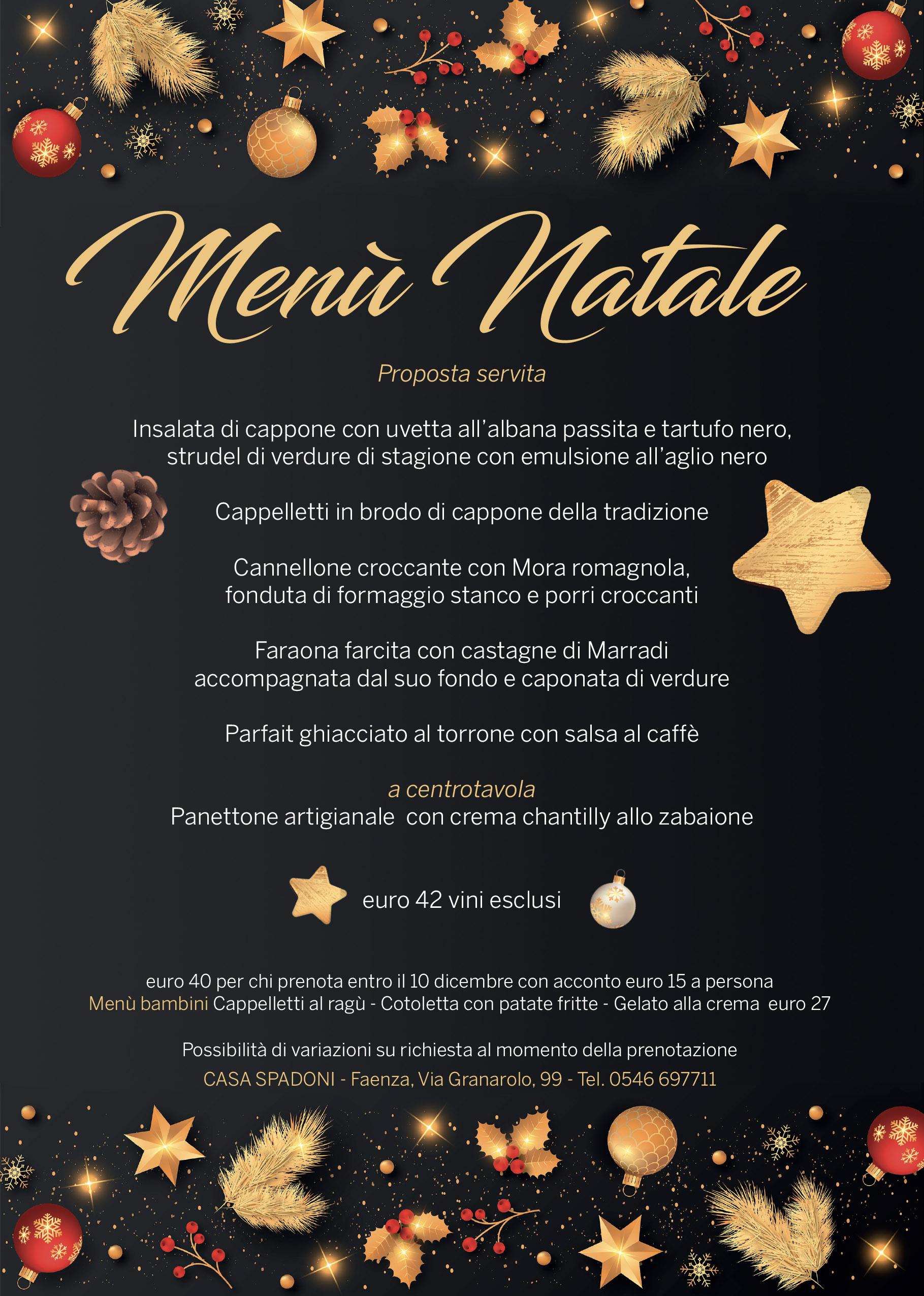 Natale a Casa Spadoni Faenza