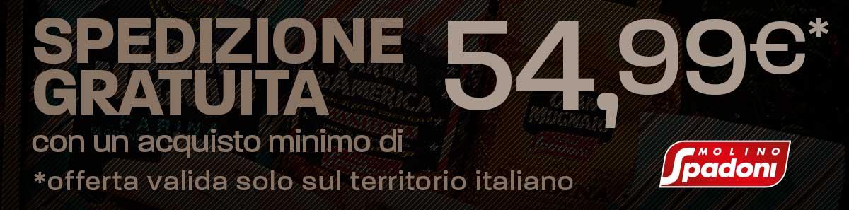 Spedizione gratuita a 54,99€ | Casa Spadoni