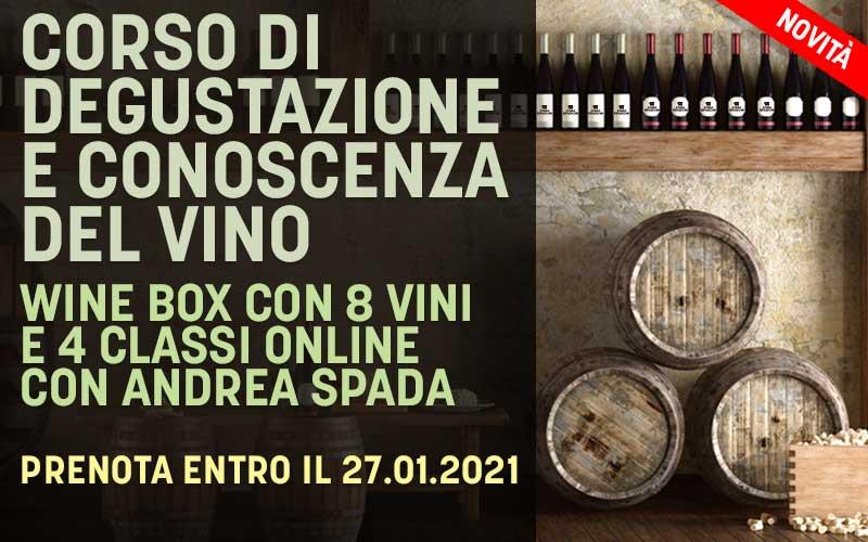 Corso di degustazione e Wine Box